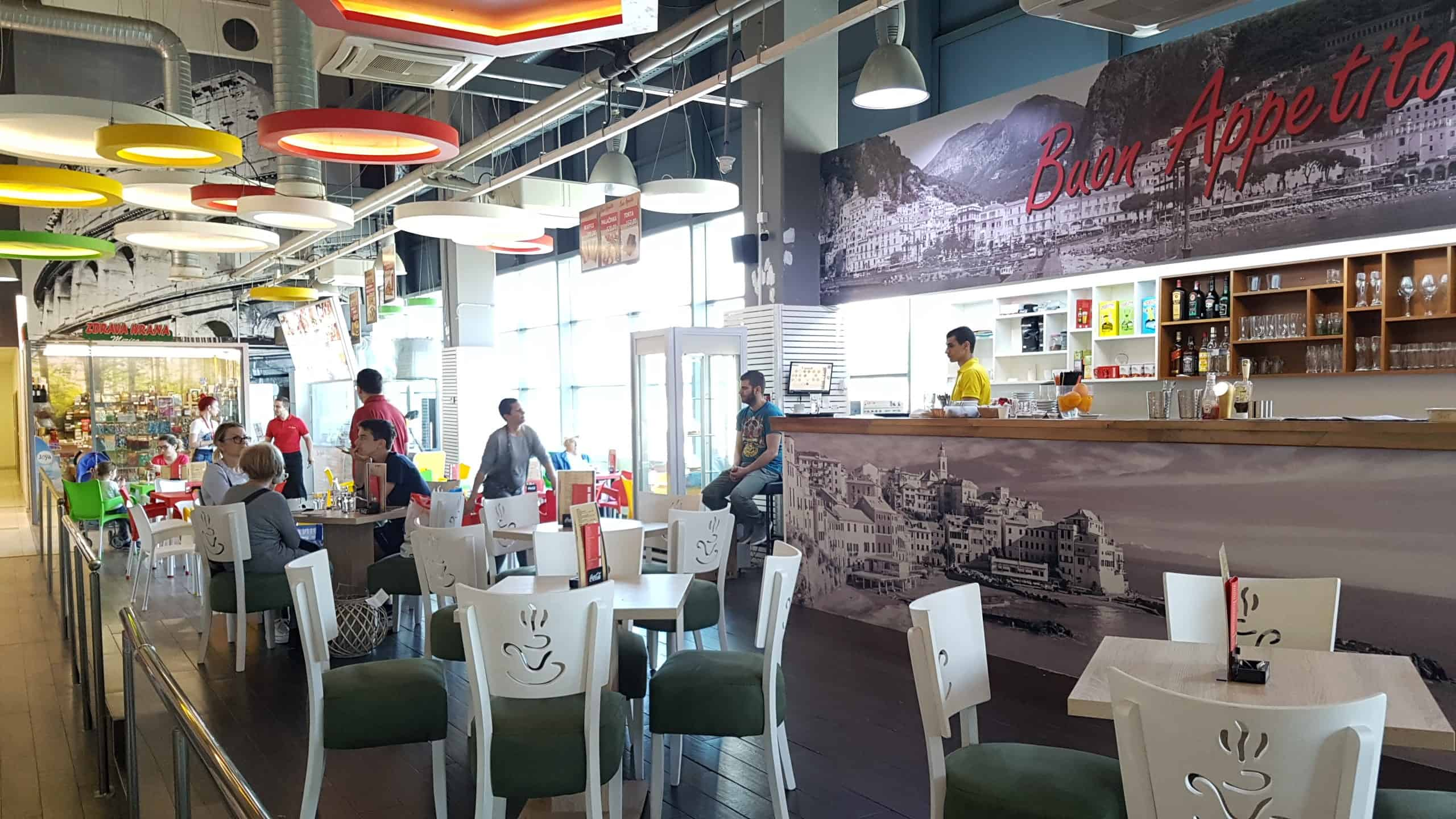 Picerija Buon Appetito u soping centru Karaburma