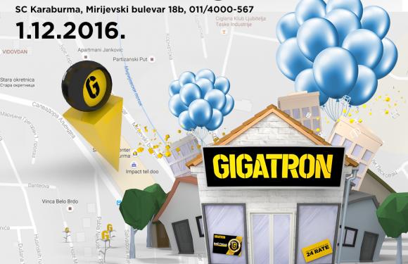GIGATRON – otvaranje nove radnje