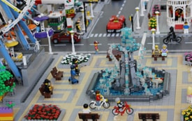 Velika LEGO izložba u šoping centru Karaburma